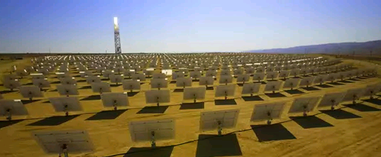 Ivanpah Solar Electric Generating Station в Калифорнии