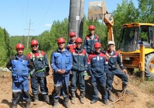 Пермэнерго заменило опору ЛЭП на важном отрезке ВЛ «Яйва – Соликамск» 110 кВ