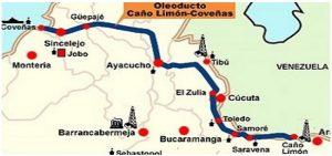 В Колумбии повстанцами опять подорван крупный нефтепровод