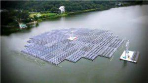 Южная Корея построит самую большую плавающую СЭС, следующую за движением Солнца