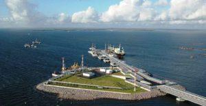 «Газпромом» будет построен СПГ-терминал в морском порту Высоцк Ленинградской области