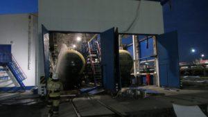 Во время взрыва на газовом предприятии в Тобольске пострадало 3 рабочих