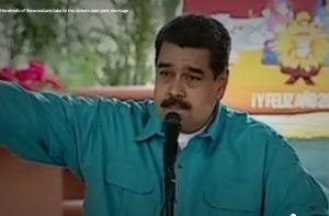 Мадуро обвинил 4 ведущих информационных агентства в проведении кампании против Венесуэлы