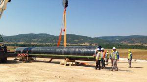 Тестирование TANAP и ввод в эксплуатацию участка до турецкого Эскишехира намерены осуществить в январе