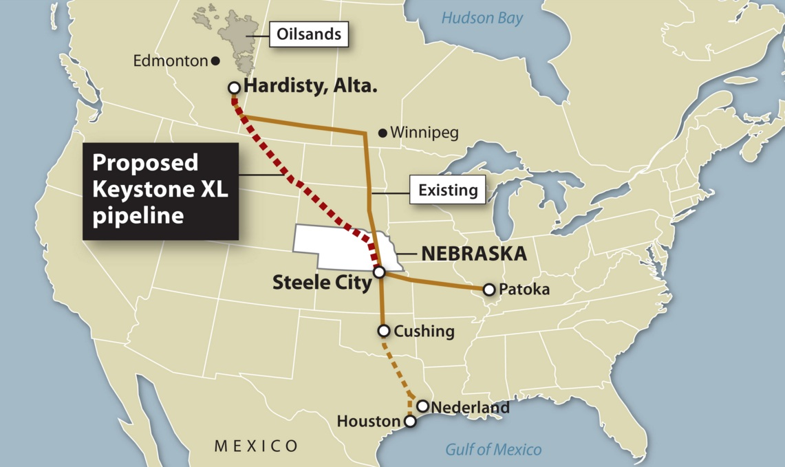 keystone xl Watch video the keystone xl pipeline passes a major hurdle after nebraska regulators approve the route for the projectthe project.