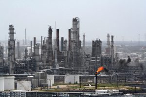 «Exxon Mobil» сообщила о неполадках и выбросе газа на ее НПЗ в Техасе