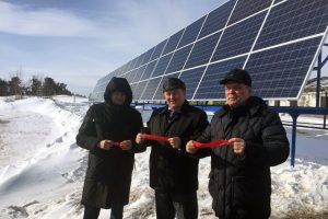 В Кондинском районе ХМАО – Югры запущена первая солнечная электростанция