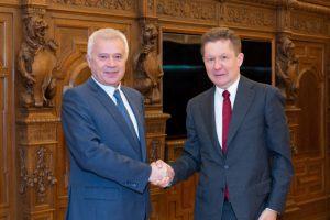 Главами «Газпрома» и «ЛУКойла» рассмотрены направления взаимодействия компаний