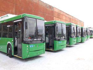 В Красноярске отказались от электробусов и автобусов на газе вопреки поручениям Путина