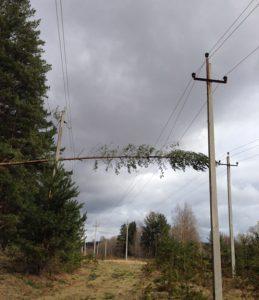 Свыше 40 тыс человек в Центральном федеральном округе остаются без электроснабжения