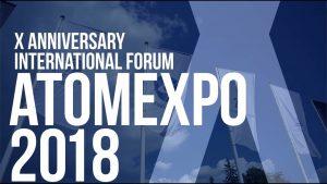 Юбилейный X международный форум по атомной энергетике «Атомэкспо-2018» открылся в Сочи