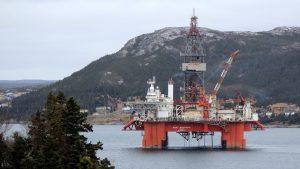 BP остановлены работы на проекте в Канаде в провинции Новая Шотландия