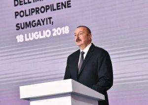 В Азербайджане в рамках проекта «SOCAR Polymer» торжественно открыли завод