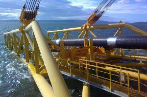 «Газпромом» начаты работы по «Турецкому потоку» в прибрежной полосе Турции
