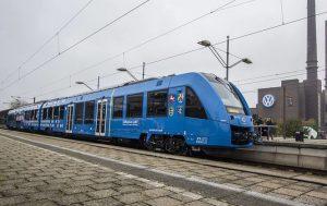 До конца этого лета в Германии начнут курсировать поезда на водородном топливе