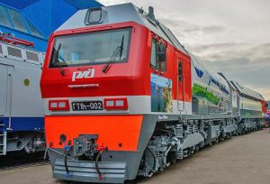 В ЯНАО успешно испытали инновационный локомотив, который работает на СПГ