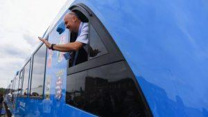 В Германии закурсировал первый в мире поезд на водородных топливных элементах