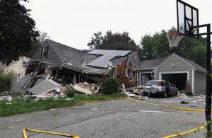 «Армагеддон» в американском Массачусетсе: от газа взорвалось 39 домов