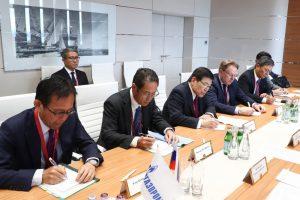 «Газпром» и «Mitsui» рассмотрят возможности сотрудничества по проекту «Балтийский СПГ»