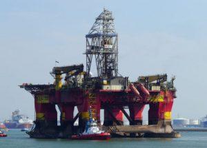 Французской «Total» открыто газовое месторождение на шельфе Великобритании