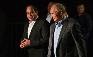 Президенты России и Египта обсудили в Сочи строительство АЭС, возобновление полетов, ВТС