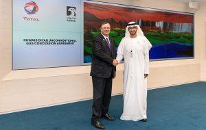 ADNOC совместно с «Total» займутся изучением нетрадиционных ресурсов газа в ОАЭ