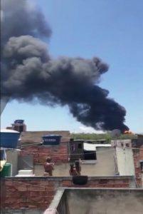Крупный пожар на большом бразильском НПЗ Manguinhos под Рио-де-Жанейро