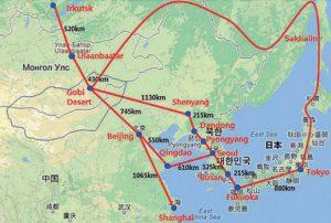 На создание энергокольца в Северо-Восточной Азии потребуется до $7,6 млрд