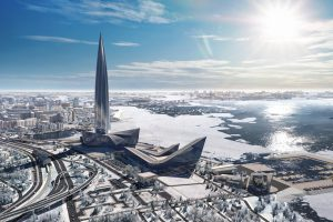 «Газпром» приобретет у «Газпром нефти» питерский «Лахта центр»