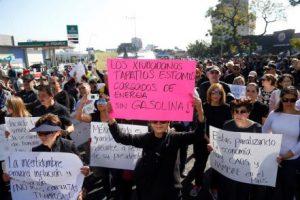 В Мексике началось протестное движение вследствие нехватки топлива