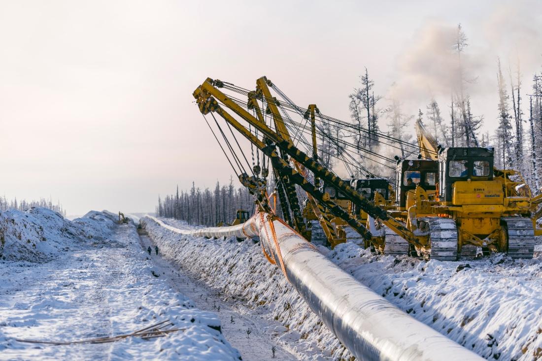 «Газпромом» будут начаты поставки трубопроводного газа в КНР уже 1 декабря