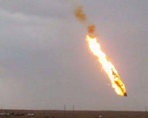 Рядом с Басрой в Ираке, где работают иностранные нефтекомпании, упала ракета