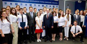 Новак и Ливинский вручили награды победителям Всероссийской Олимпиады школьников