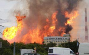 На ТЭЦ в Мытищах при пожаре погиб 1 человек, пострадали 13