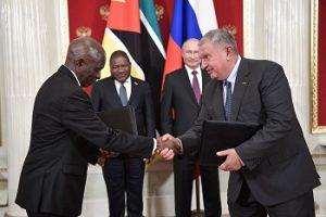 Между «Роснефтью», INP и ENH подписано соглашение о сотрудничестве в Мозамбике