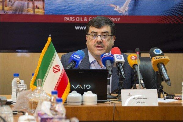 К концу следующего марта установят все платформы на месторождении газа «Южный Парс» в Иране
