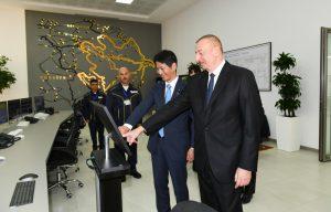 В Баку ввели в эксплуатацию электростанцию «Шимал-2»