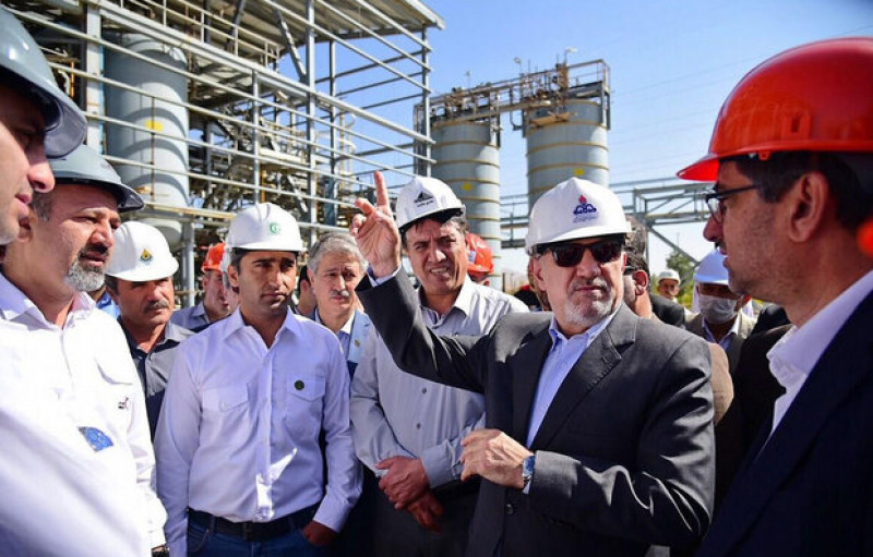 Нефтехимический завод «Hegmataneh» в Иране запустят уже следующей весной