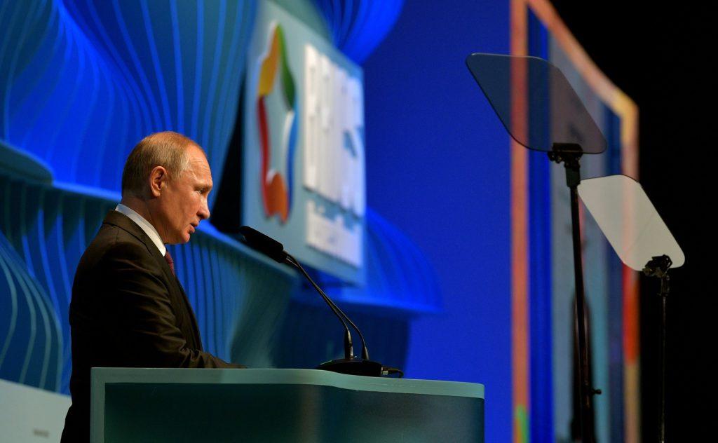 Владимир Путин: Энергетика — одна из приоритетных сфер сотрудничества стран-партнеров BRICS