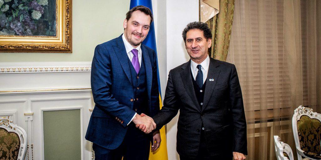 Премьер Украины и гендиректор IRENA обсудили взаимосотрудничество в возобновляемой энергетике