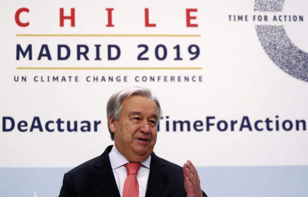 Генсека ООН разочаровали результаты климатической конференции в Мадриде