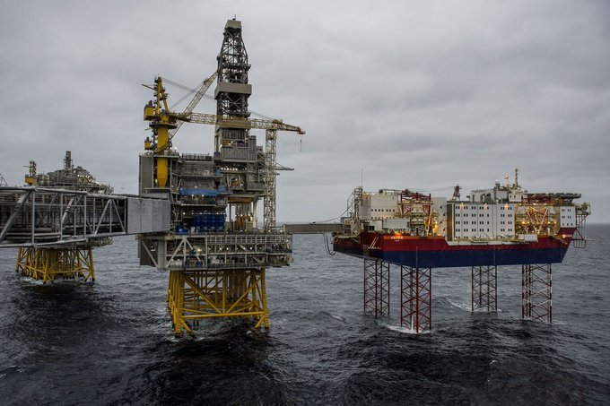 Новое гигантское месторождение нефти в Норвегии дает приток нефти Северного моря в Азию