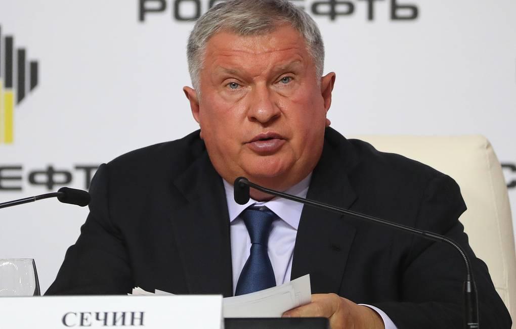 Сечина утвердили на должность главного исполнительного директора «Роснефти» еще на 5 лет