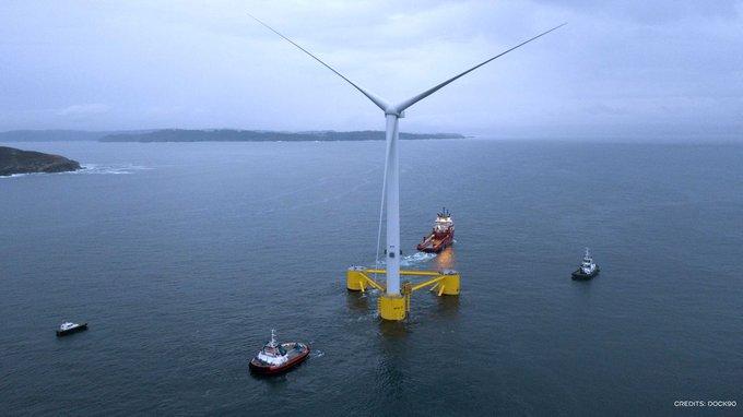Плавучие ветряные турбины получат свыше $22 млн от «Tokyo Gas»