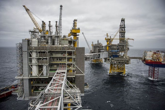 Новое гигантское месторождение Норвегии будет экспортировать больше нефти, чем когда-либо прежде